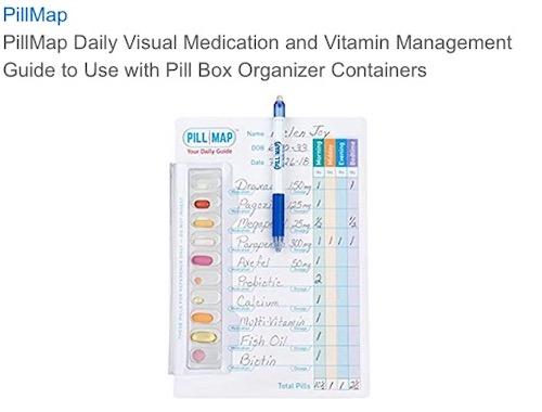 PillMap & Eraseable Pen