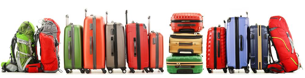 Luggage Summer Travel PillMap
