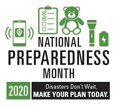 National Preparedness Month Plan Today